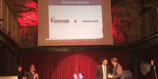 Trophée de l'Innovation 2019 pour les emballages isothermes Isovation