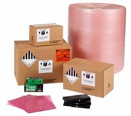 Emballage expédition batterie lithium