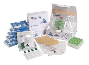 sachets spécimens pour substances biologiques