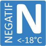 Solution isotherme pour température négative