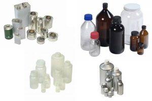 emballage primaire, bouteille verre, pot aluminium