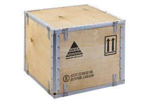 Fabricant emballage produit dangereux, caisse en contreplaqué transport matière dangereuse