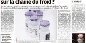 Article_laprovence_20-01-21-vaccins_rupture-chaine-du-froid_emballage_isotherme isovation_